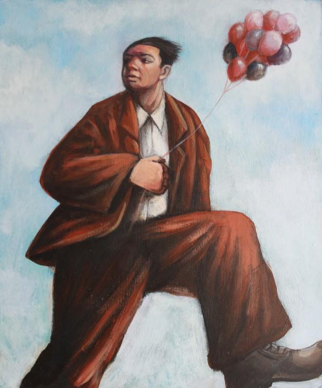 Balloonist 30x24cm £595